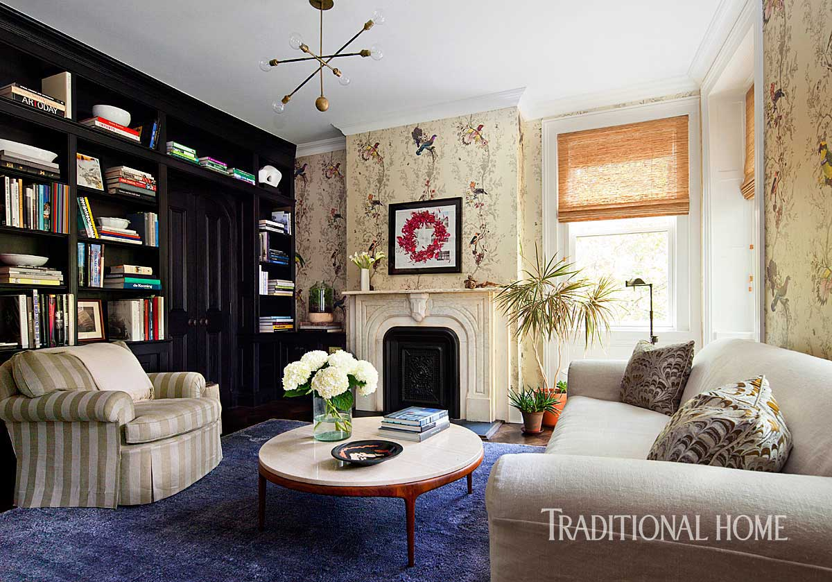 Stylish Brooklyn Brownstone Traditional Home