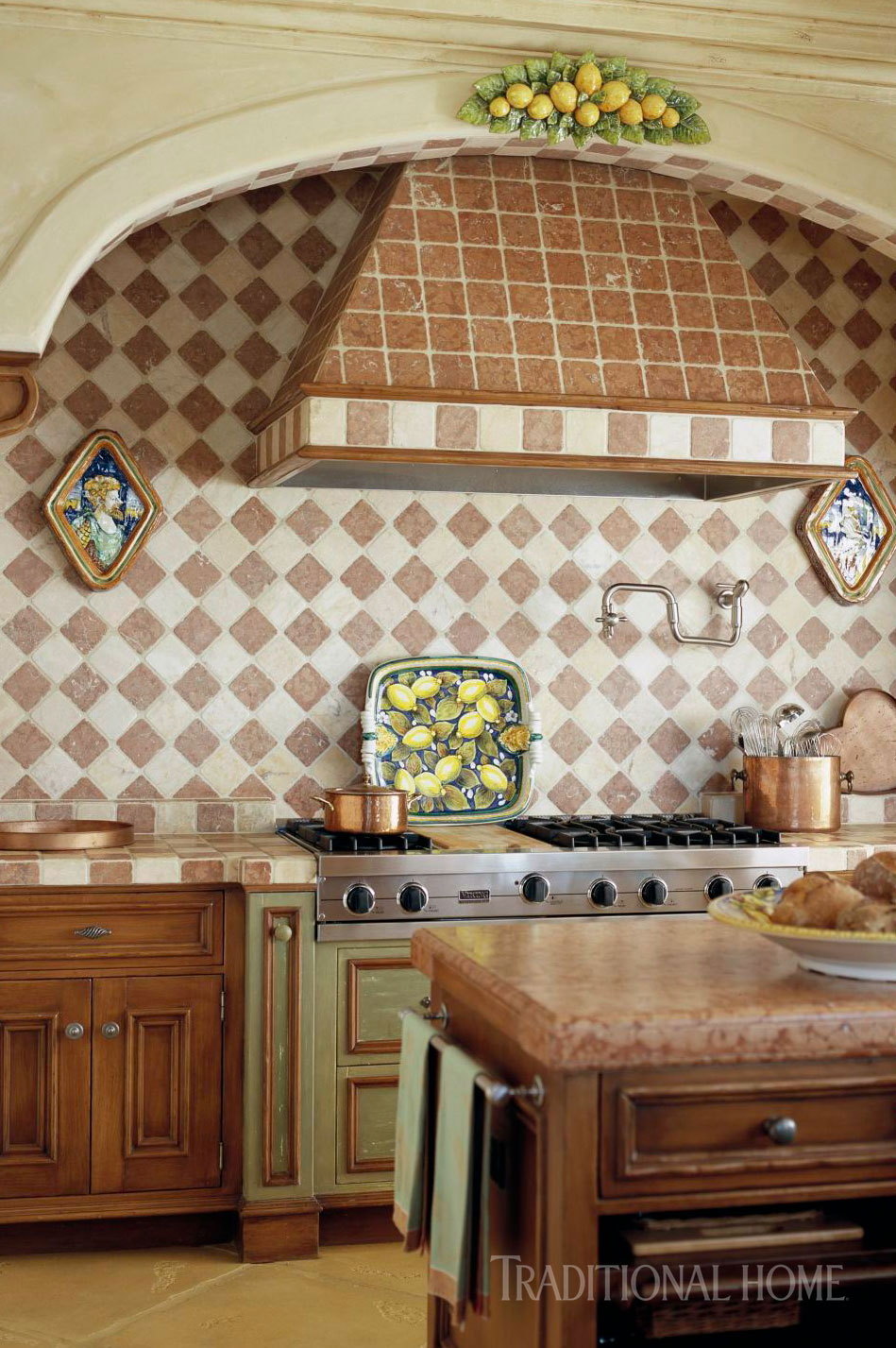 Napa Kitchen with Beauty and Brawn | Traditional Home
