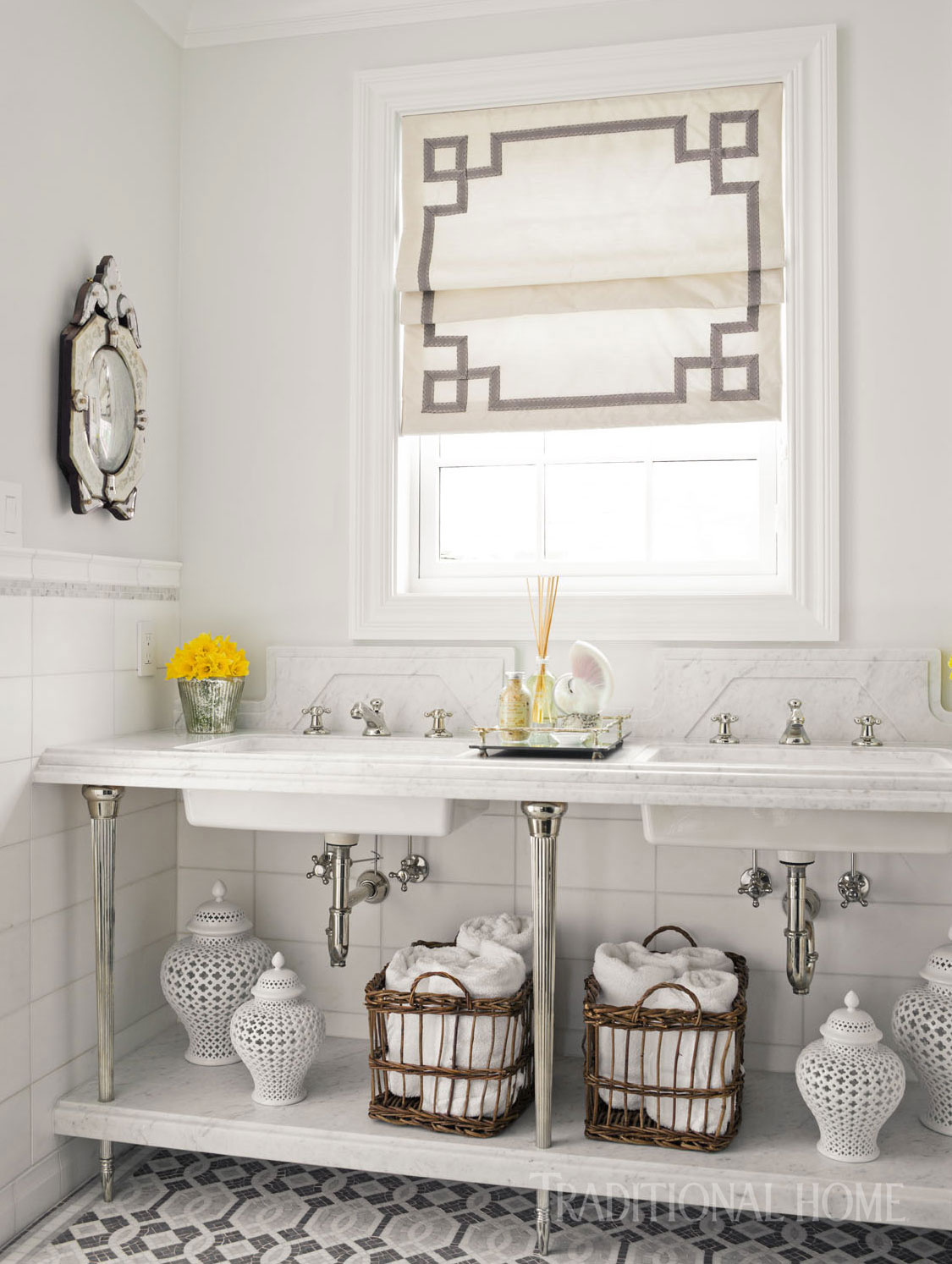 Seattle Bathroom Awash in Serenity | Traditional Home