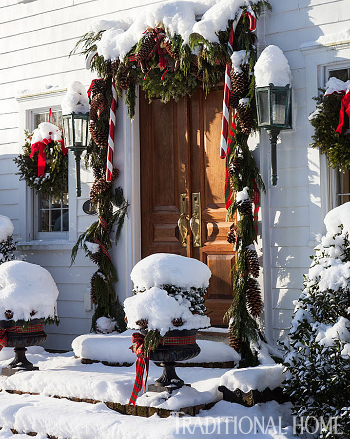 whether over your front door or draped over your stairway banister try doubling or tripling ropes of garland one strand is always too thin and looks - When Can You Decorate For Christmas