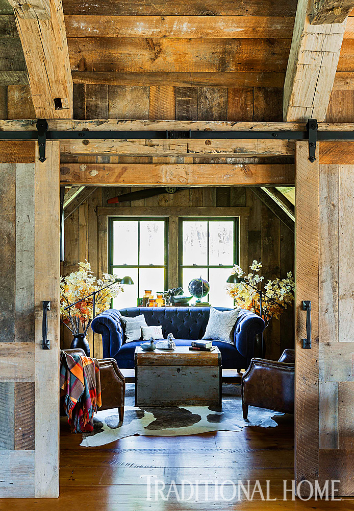 Rustic Farmhouse With Classic Style Traditional Home