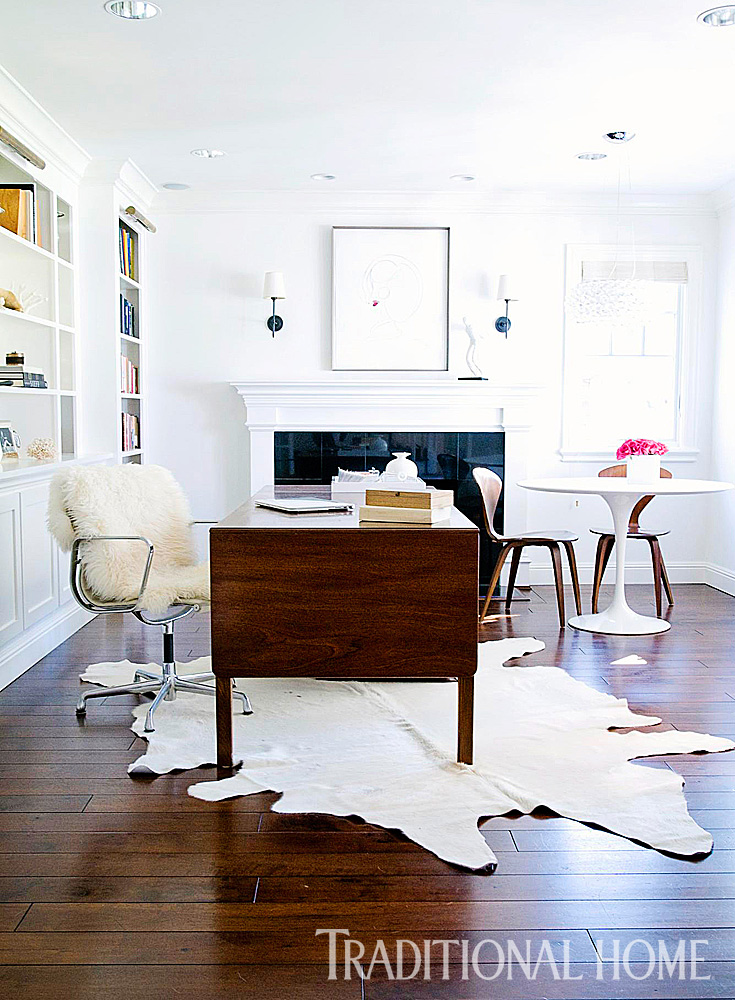 Casual FamilyFriendly California Home Traditional Home - Room and board saarinen table