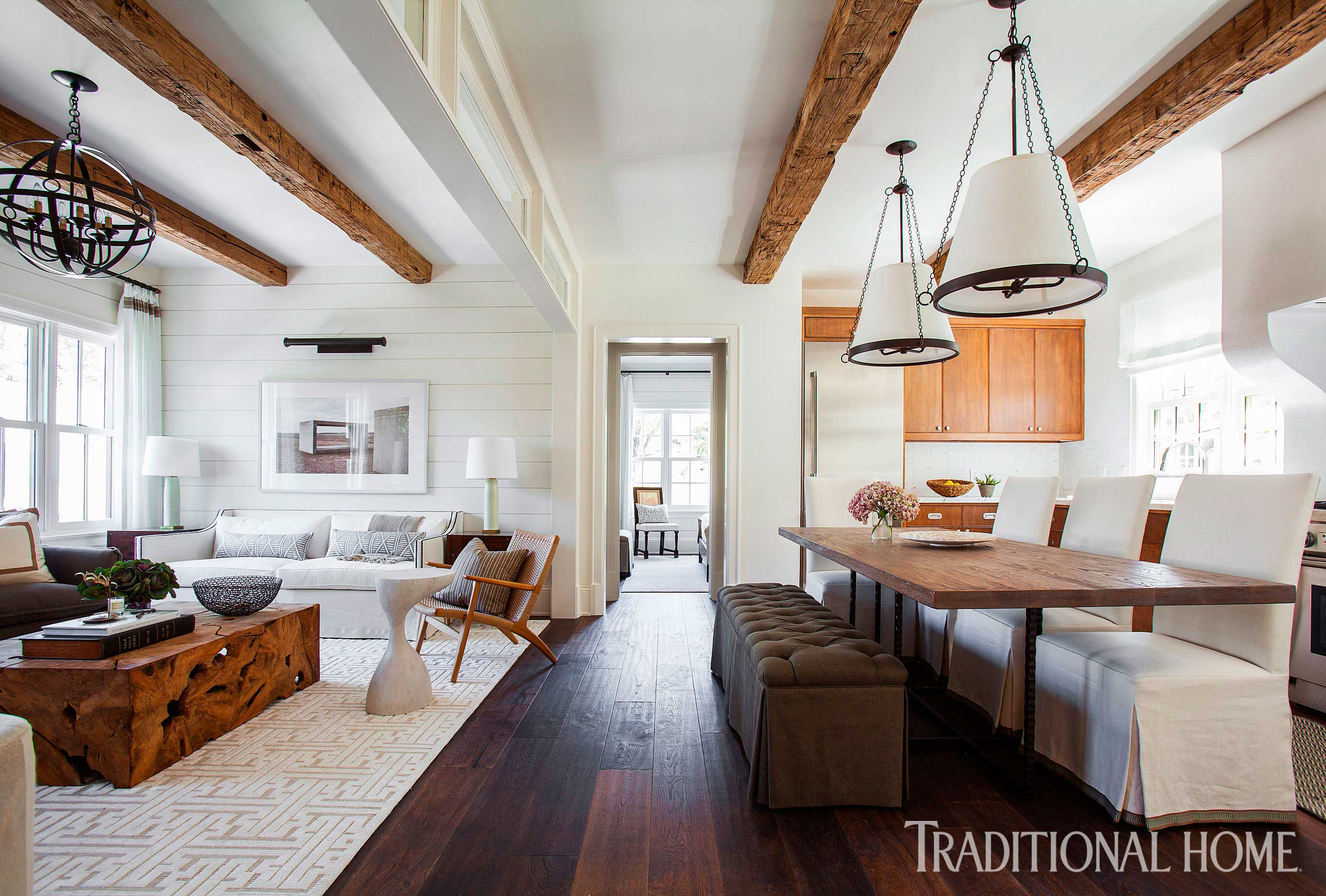 Houston Home with Great use of Texture | Traditional Home