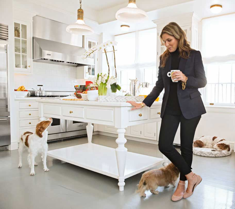 A day in the life aerin lauder traditional home for Style at home instagram