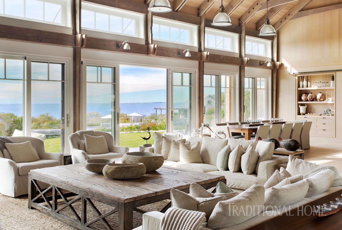 Martha's Vineyard Home with Natural Style | Traditional Home on kitchen design homes, natural landscape homes, natural interior design kitchens,