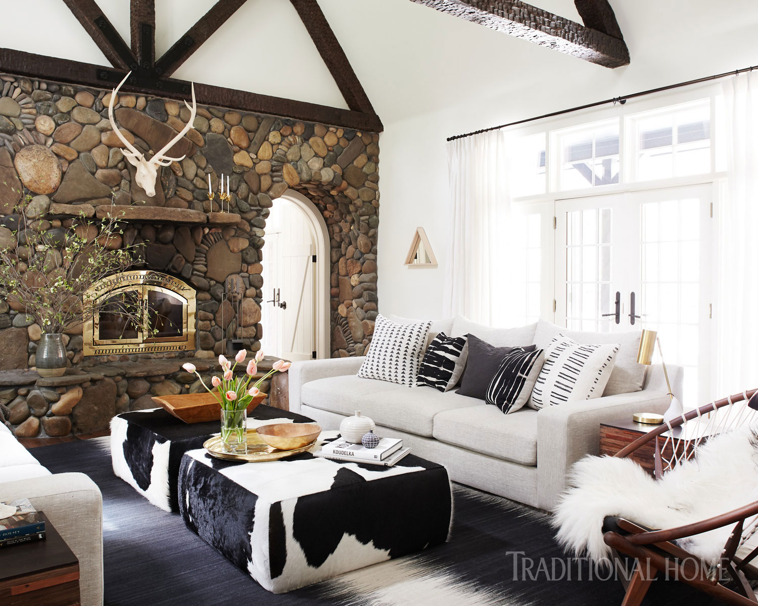 Spirited Tahoe Cabin | Traditional Home