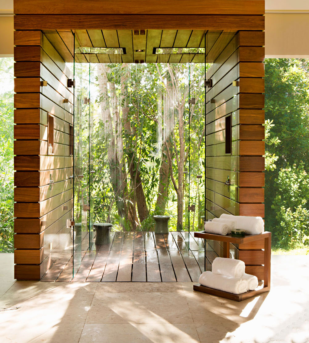 enjoyable punch home design architectural series. The spa treatment rooms overlooking a mystical cenote are an oasis of  modernity A personal butler attends to each guest s every need Body Soul Chabl Resort Spa Traditional Home