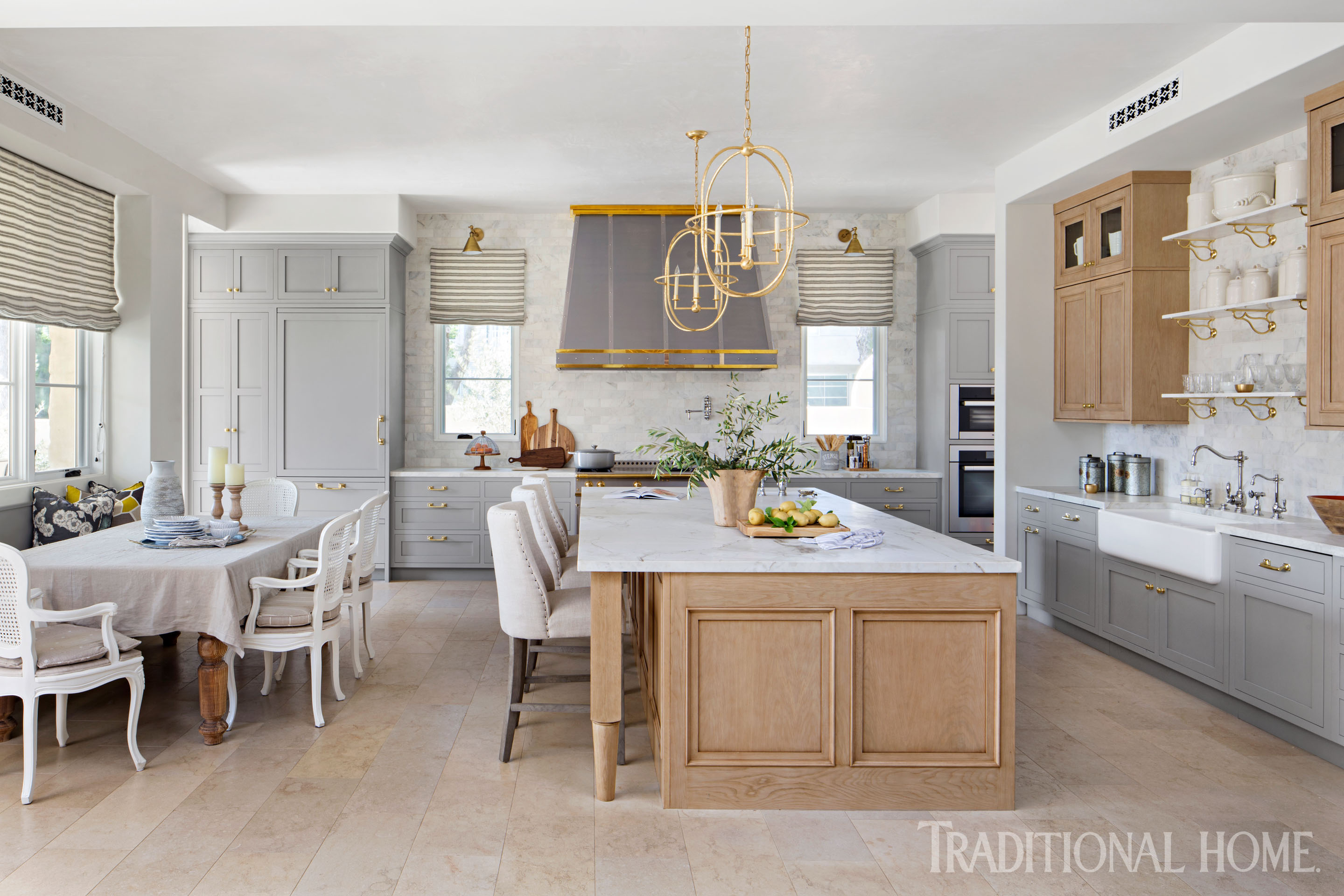French Style Inspires a Modern Kitchen