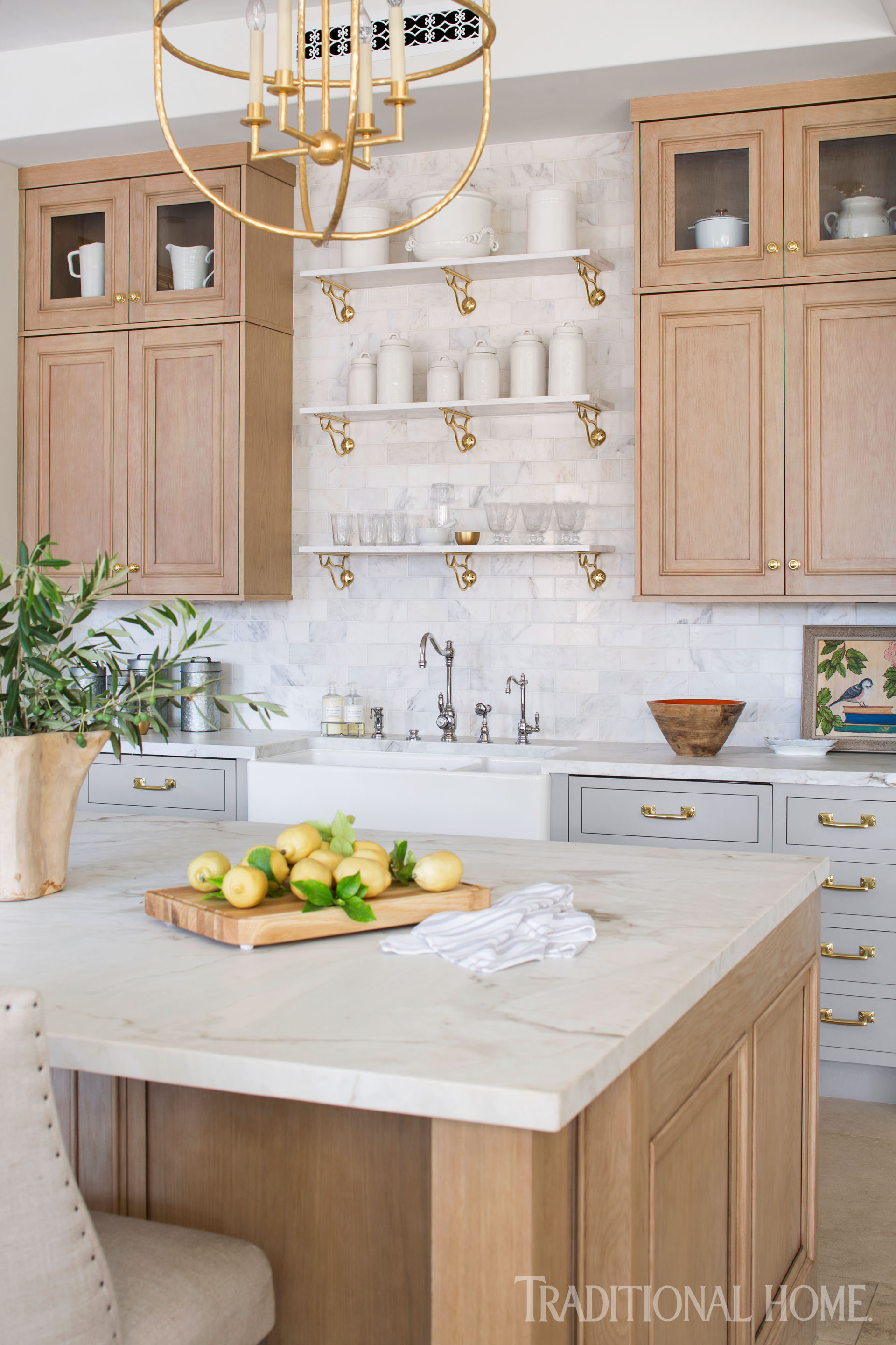 Amazing French Style Inspires A Modern Kitchen Traditional Home Home Interior And Landscaping Mentranervesignezvosmurscom