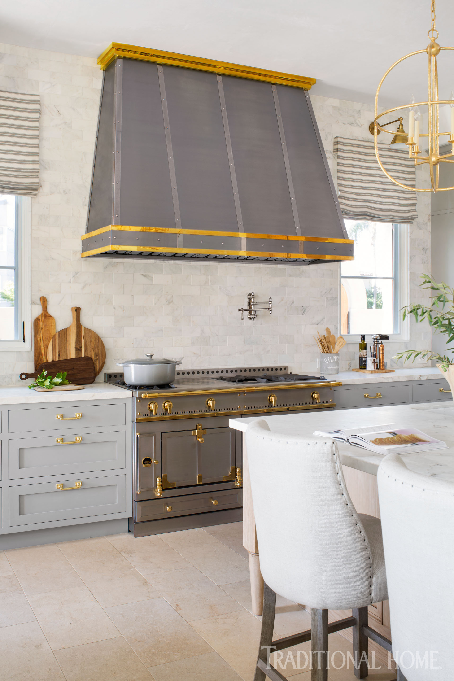 French Style Inspires a Modern Kitchen | Traditional Home