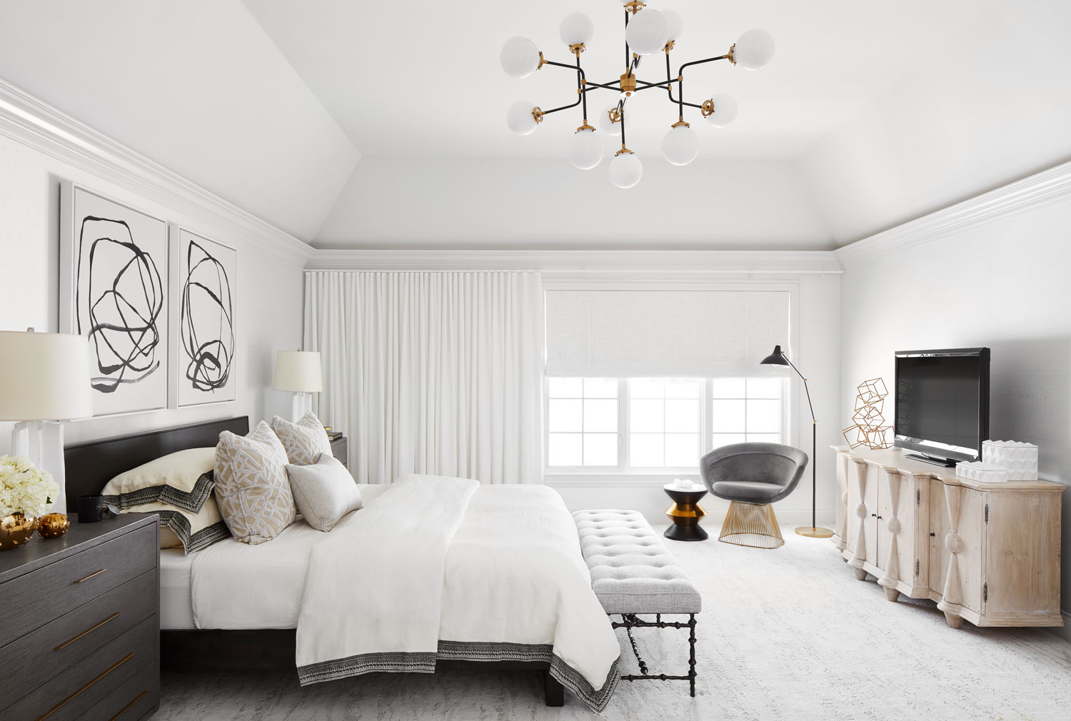 interesting master bedroom suite | Before and After: Master Suite Makeover | Traditional Home