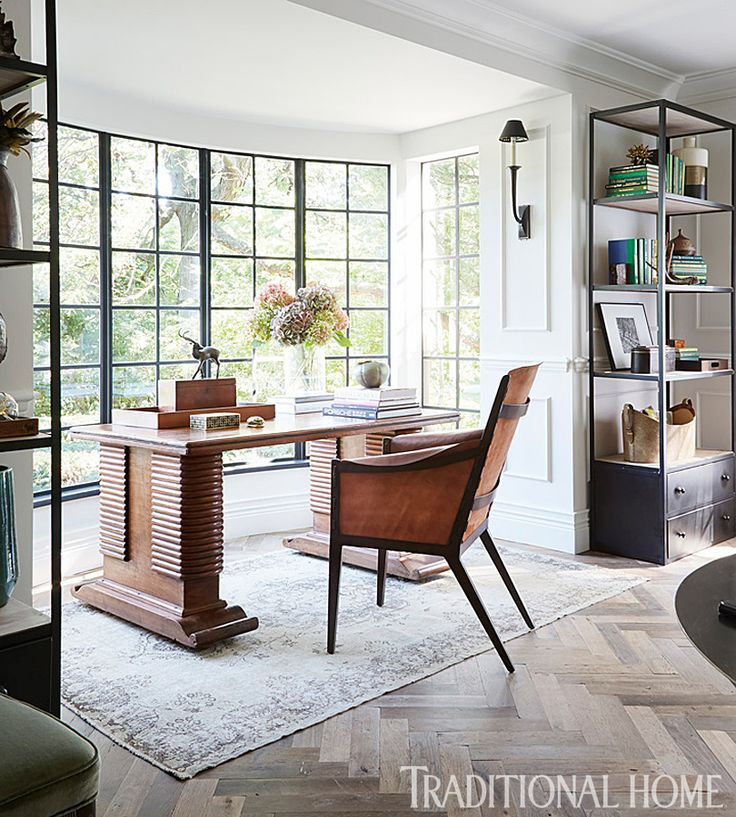 Get Organized: Home Office | Traditional Home