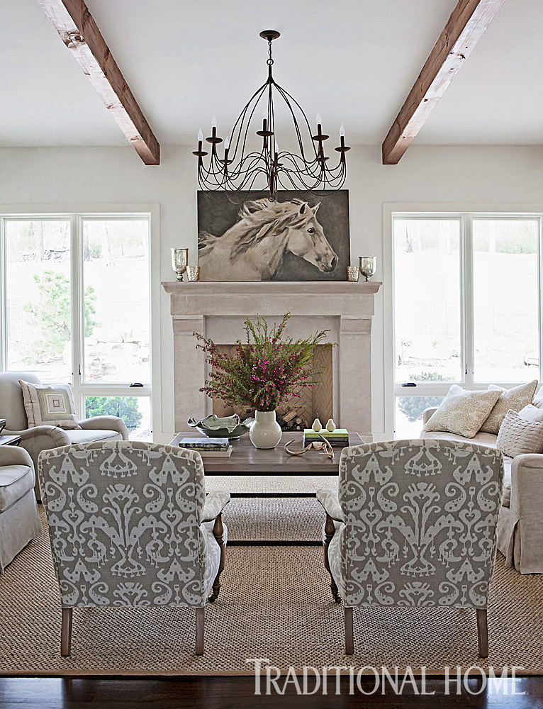 chic tennessee farmhouse traditional home