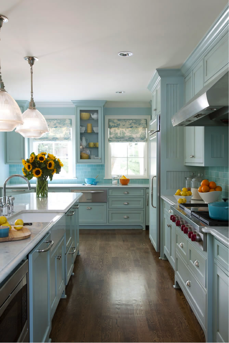 Tobi\'s 4 Favorite Kitchen Colors | Traditional Home