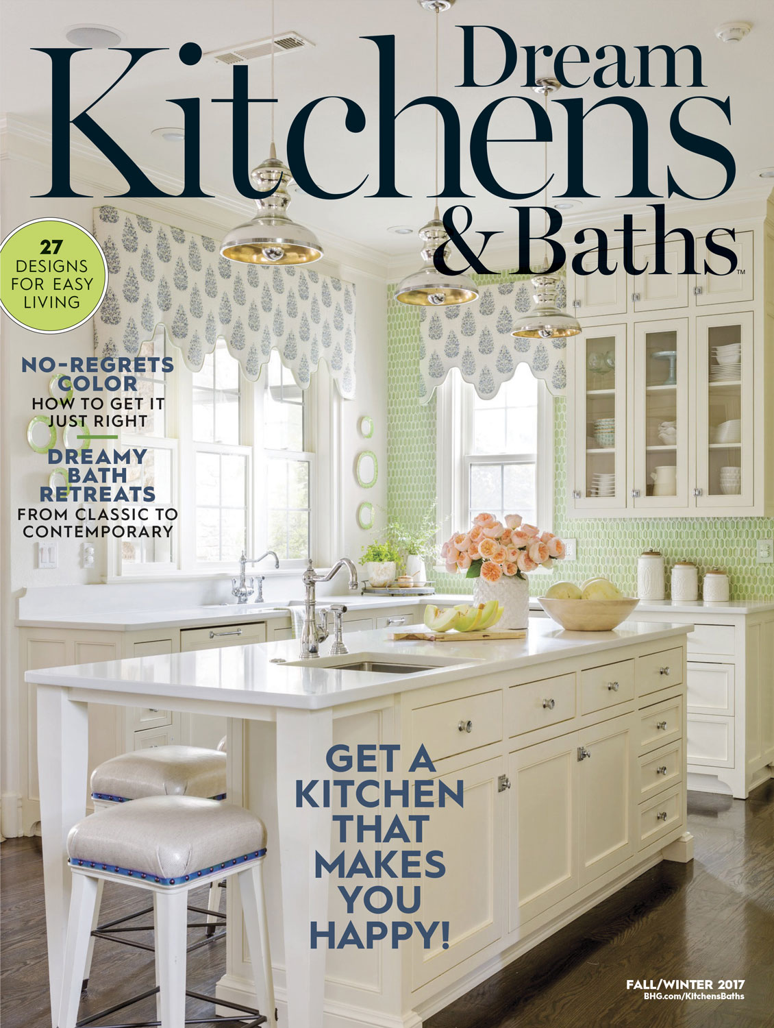 Inside this Issue: Dream Kitchens & Baths | Traditional Home