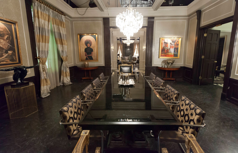Set Design: On the Set of Empire | Traditional Home