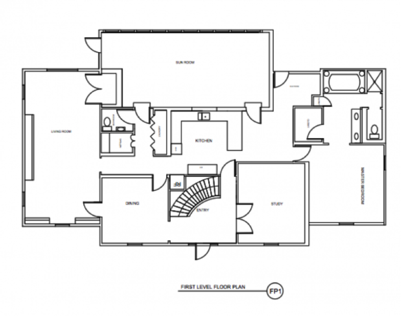 Kitchen Floor Plans: Before And After
