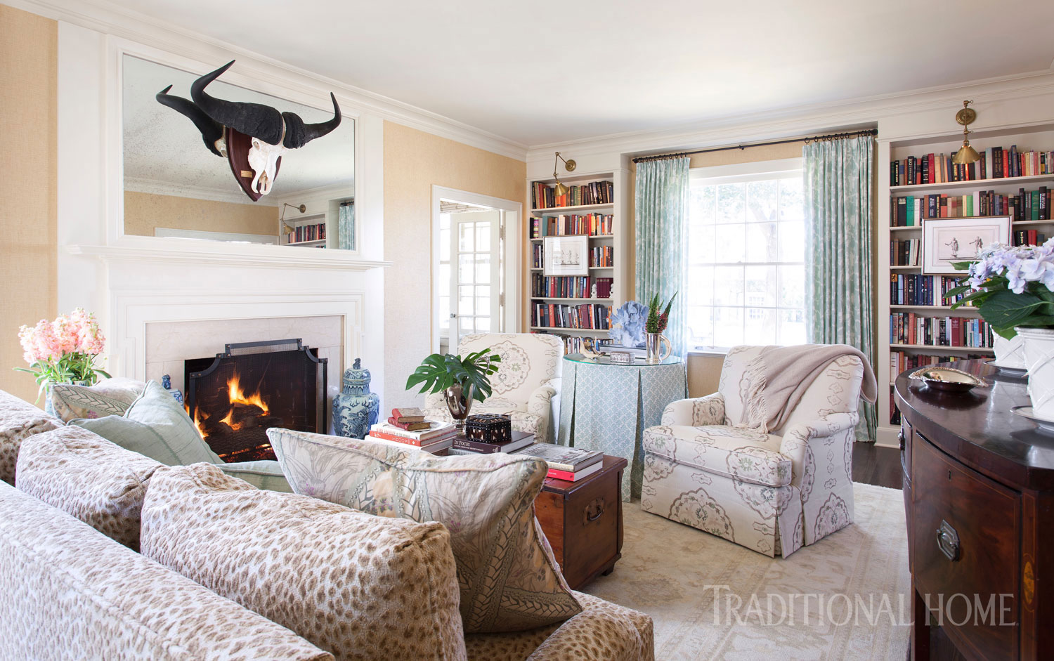 Colorful Austin Home | Traditional Home