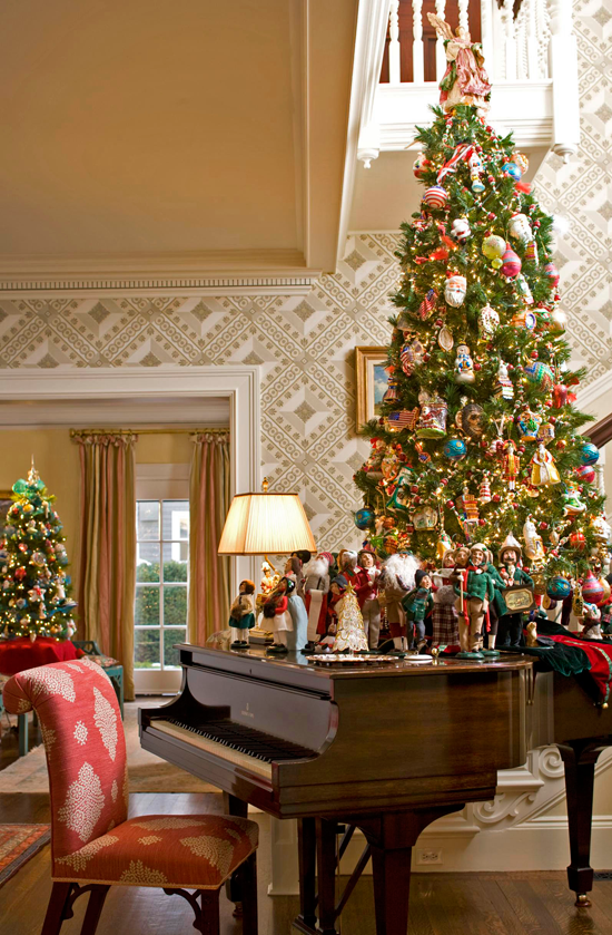 Showcasing Christmas Collections Traditional Home