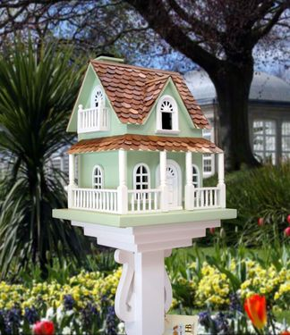 Charming Architectural Birdhouses Traditional Home