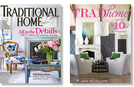 Traditional Home and Trad Home covers
