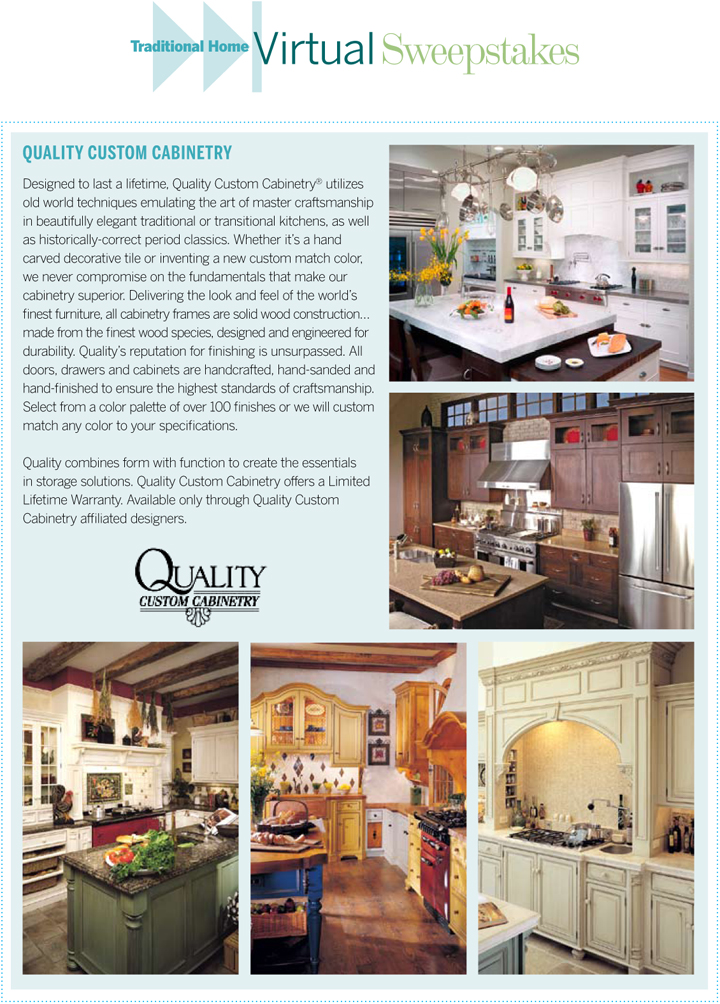 Quality Custom Cabinetry