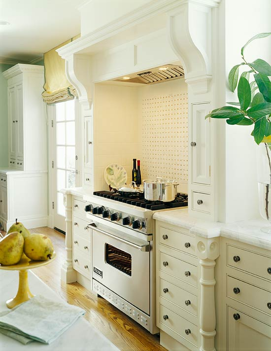 Furniture Legs Atlanta kitchen cabinets with furniture-style flair | traditional home