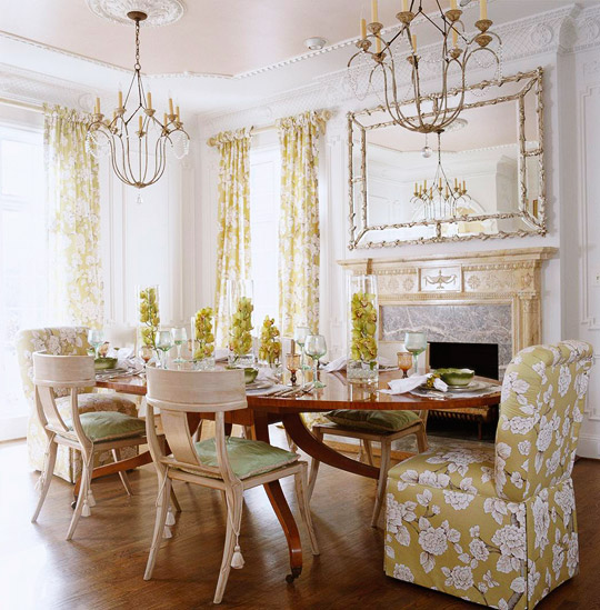 Beautiful dining rooms traditional home for Beautiful traditional dining rooms