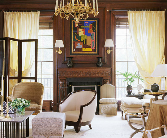 Handsome Showhouse Rooms