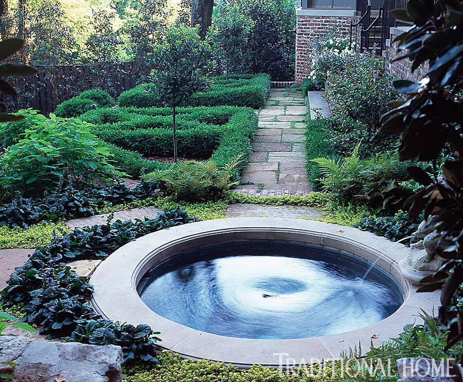 Simply perfect alabama garden traditional home Simply garden design