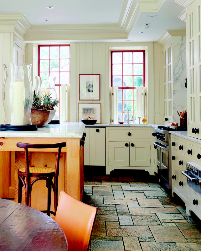 Storage Ideas for Kitchens without Upper Cabinets | Traditional Home