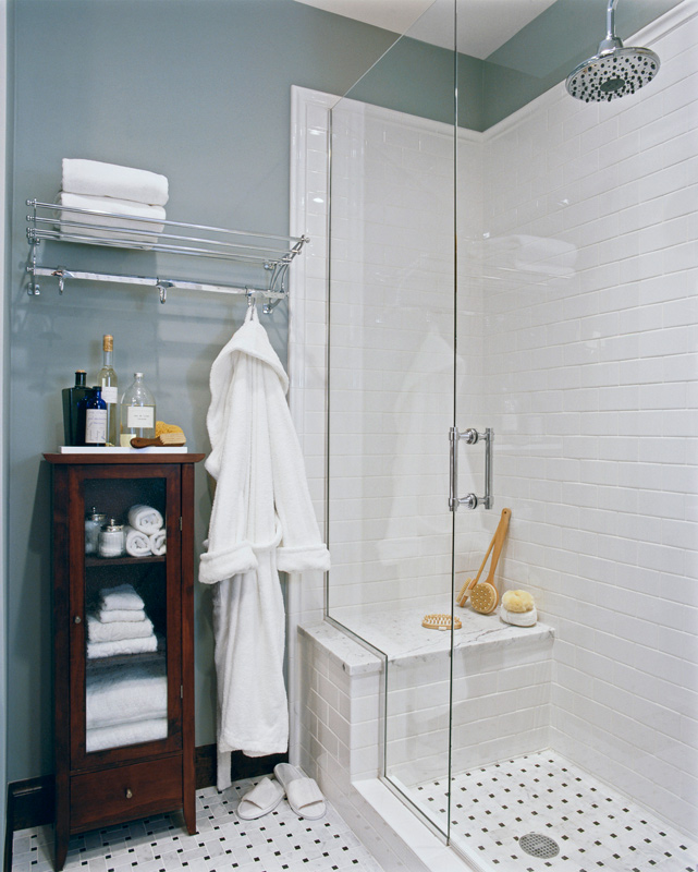Storage Ideas For Small Bathrooms Traditional Home - Small-bathroom-design