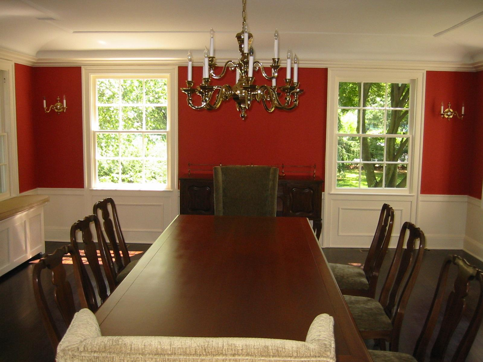 Our best before and after dining rooms traditional home for Best dining room pictures