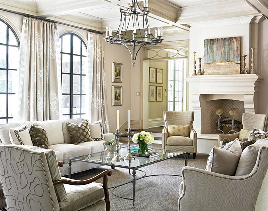 ENLARGE Decorating Ideas Elegant Living Rooms Traditional Home