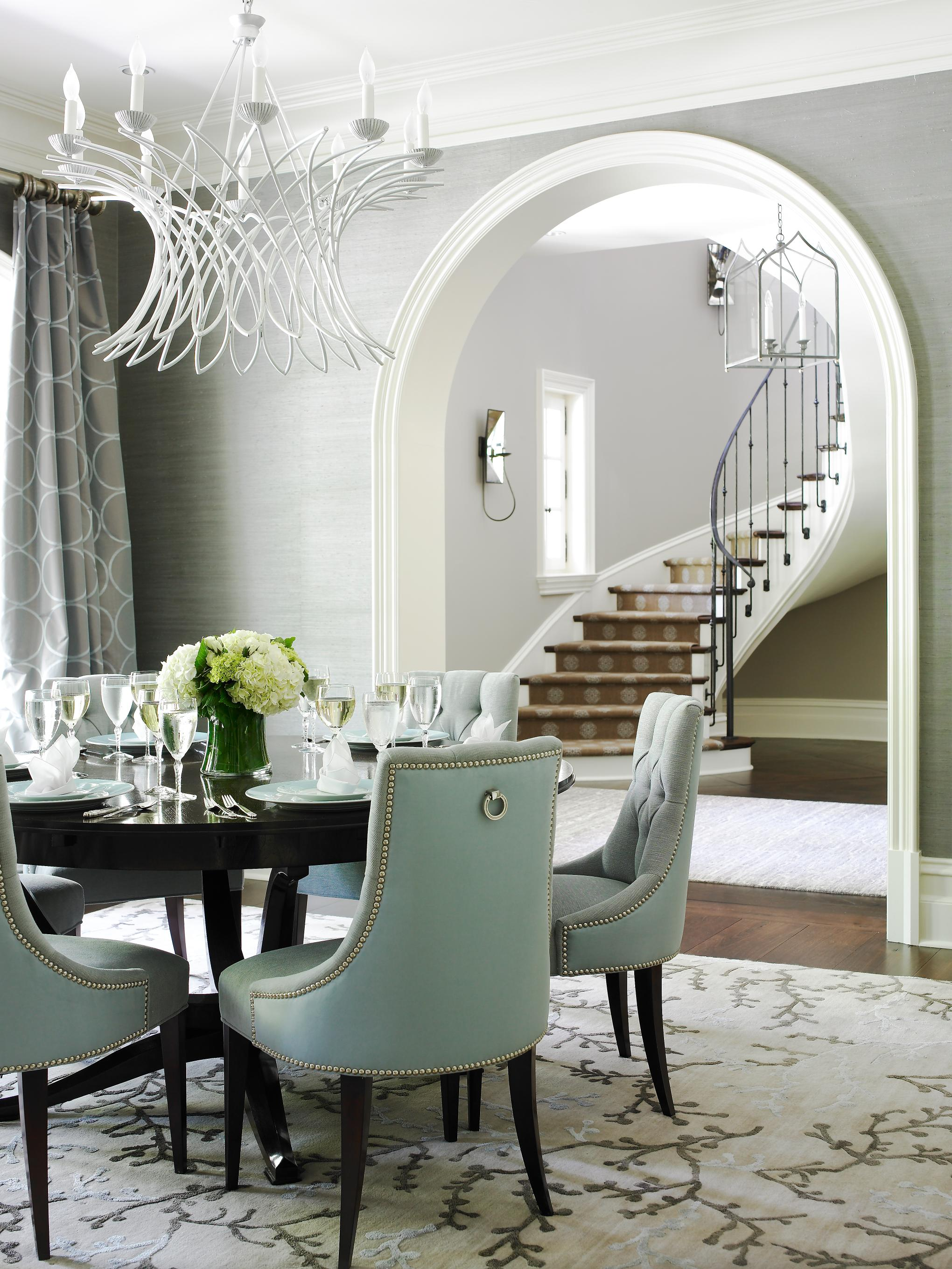 Elegant dining rooms traditional home for Designer dining room suites