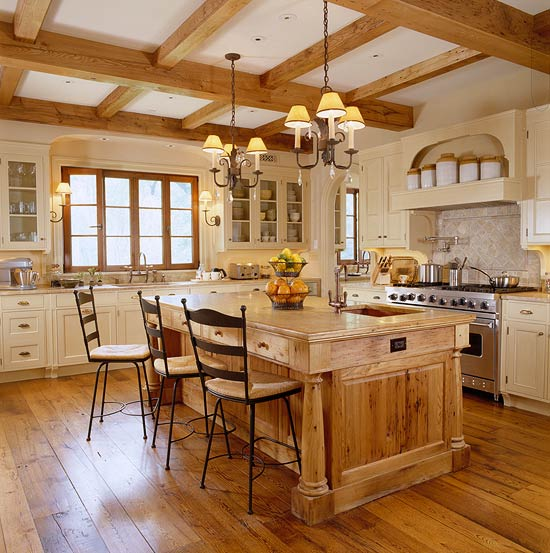 Kitchen Design Ideas With Oak Cabinets enlarge Enlarge