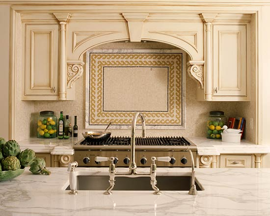 Kitchen Cabinets With Furniture Style Flair Traditional Home