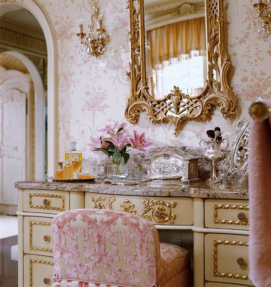 Our Readers Were Hopelessly Smitten By This Frothy, French, And Highly  Feminine Dressing Suite Faudree Designed For A Tulsa Home. Tags: Interior  Design ...