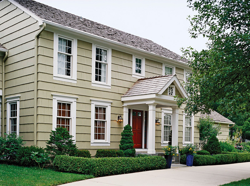 Get the look colonial style architecture traditional home for Traditional style house