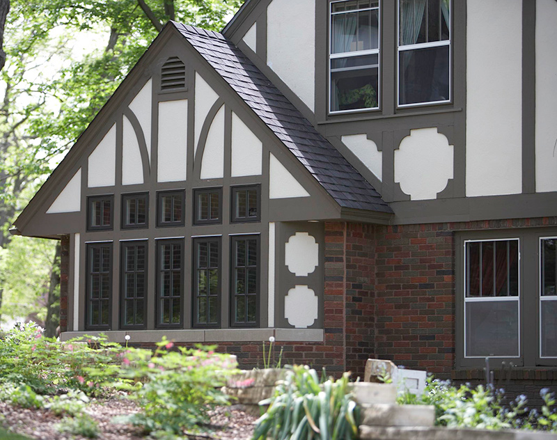 Tudor Style Windows Simple Get The Look Tudor Style  Traditional Home Design Inspiration