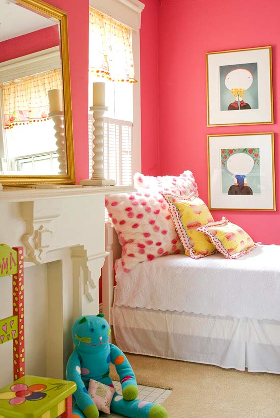 enlarge - Girls Bedroom Decorating Ideas