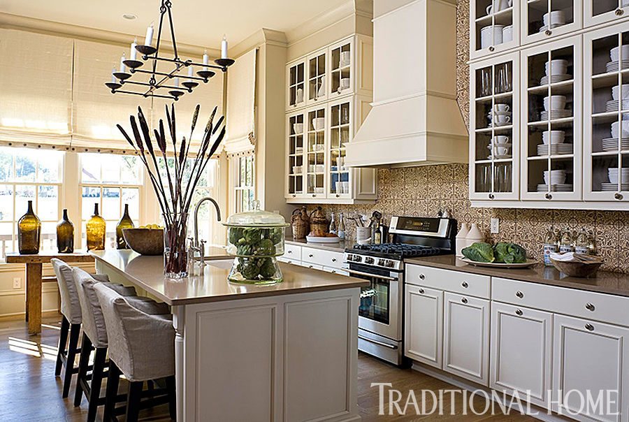 25 Years of Beautiful Kitchens | Traditional Home on basement design, backyard design, hall design, room design, modern design, shower design, staircase design, den design, office design, fireplace design, closet design, bathroom design, apartment design, exterior design, pantry design, bedroom design, interior design, master bath design, tile design, garage design,