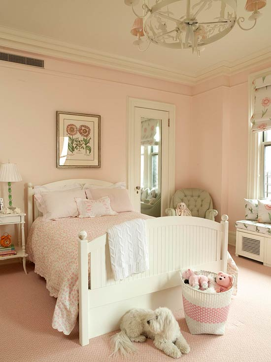 ENLARGE Sweet Pink Bedroom