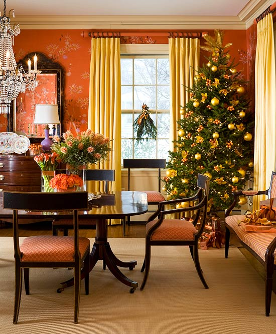 enlarge - Colonial Christmas Decor