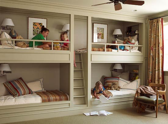 Bedroom decorating ideas young children traditional home for Traditional home bedrooms