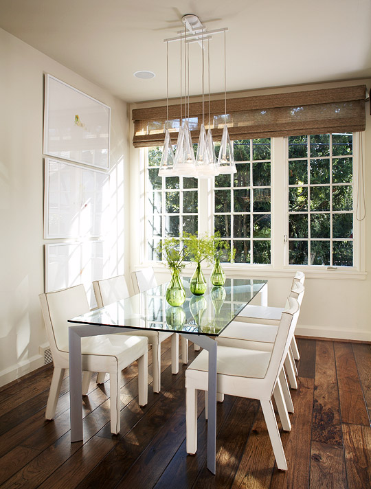 ENLARGE White Dining Room