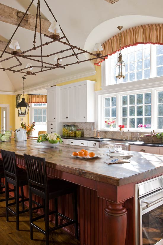 ENLARGE. Colorful Kitchens with Charisma   Traditional Home
