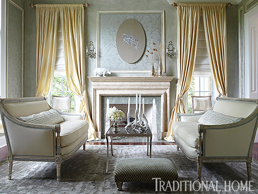 25 Years of Beautiful Living Rooms | Traditional Home