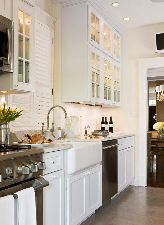 Beautiful, Efficient Small Kitchens | Traditional Home on