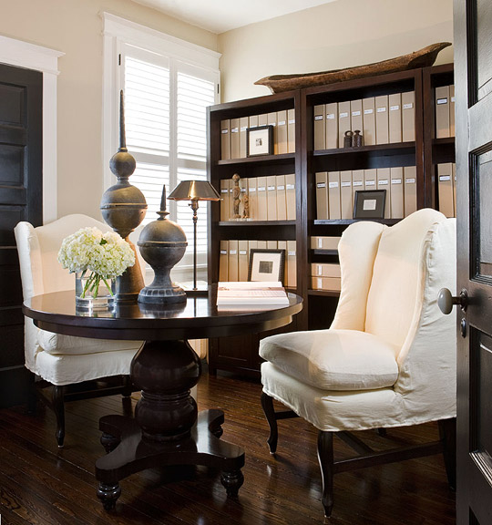 Enlarge Masculine Home Office
